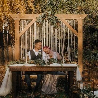 Moody Bohemian Winter Styled Shoot