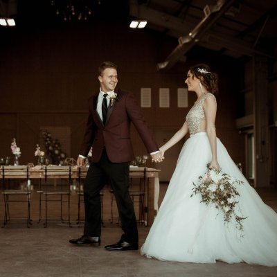 Romantic Industrial Styled Shoot