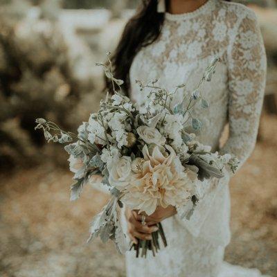 Dusty Blush Pop-Up Wedding